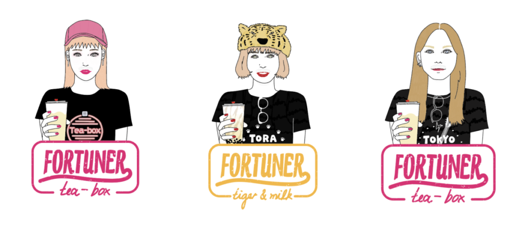 「FORTUNER tea-box」店舗一覧