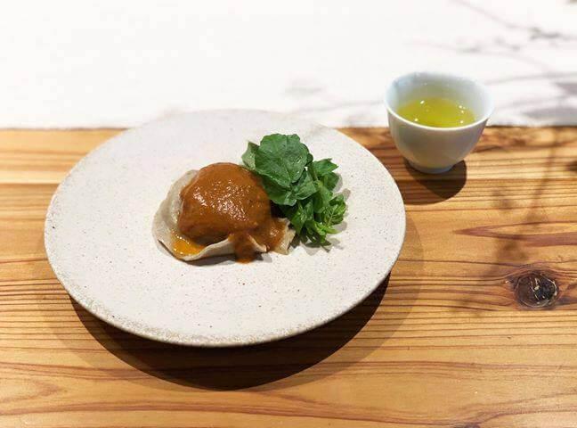 川根×蕎麦ラビオリとイノシシ