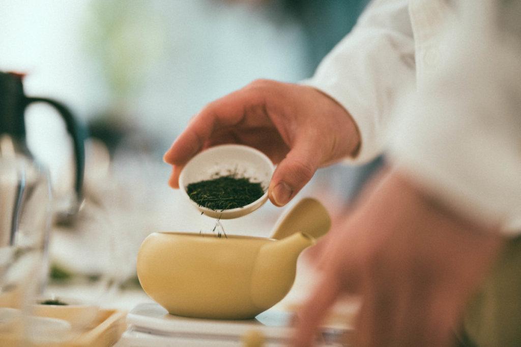 知覧茶イベント「隣のお茶は、青い」