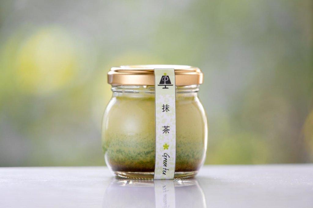 浜松プリンPrifulの抹茶プリン