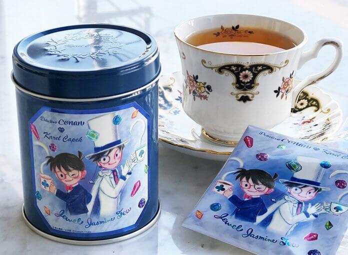 名探偵コナン×カレルチャペック紅茶店「宝石ジャスミン紅茶」
