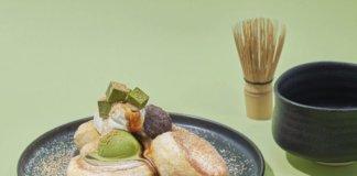 奇跡のパンケーキ 深煎りきな粉と宇治抹茶