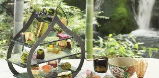 八女茶の旨みに癒される、リーガロイヤルホテル大阪のアフタヌーンティー。